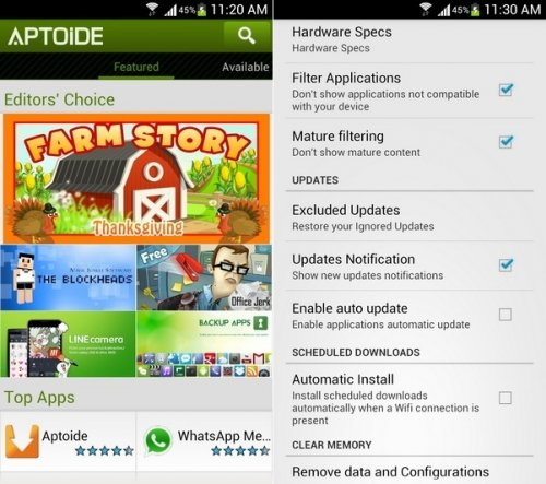 Download Aptoide 8641 Android - APK Free
