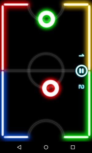 Скриншот для Glow Hockey - 4