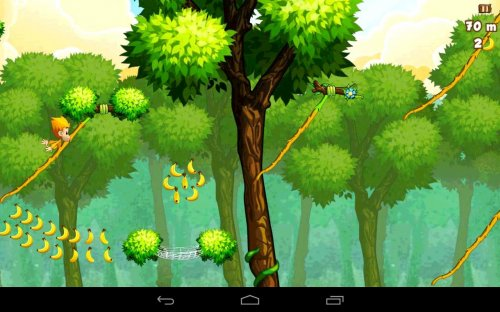 Скриншот для Benji Bananas - 4