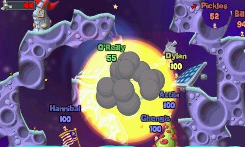 Скриншот для WORMS - 4