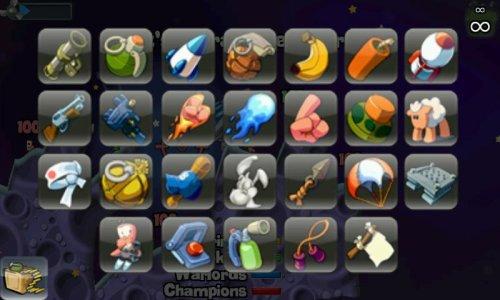 Скриншот для WORMS - 3