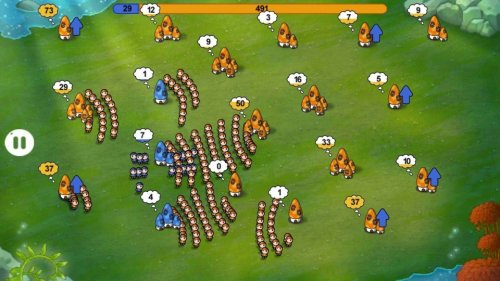 Скриншот для Динамичная онлайн-стратегия «Война грибов» - 3