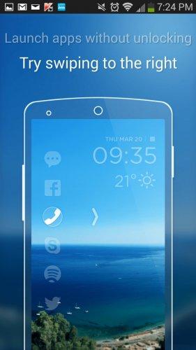 Скриншот для CM Locker - 3
