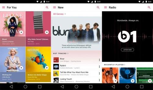Скриншот для Apple Music - 1