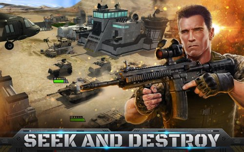 Скриншот для Mobile Strike - 3