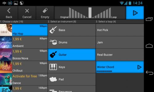 Скриншот для Music Maker Jam - 2