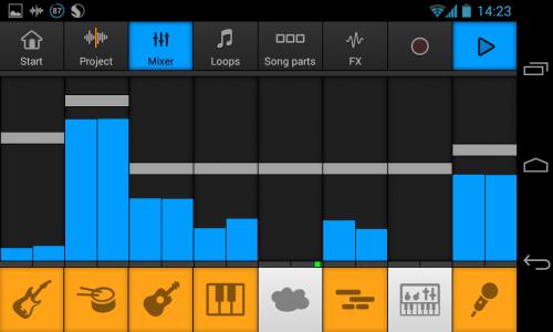 Скриншот для Music Maker Jam - 1
