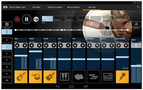 Скриншот для Music Maker Jam - 3