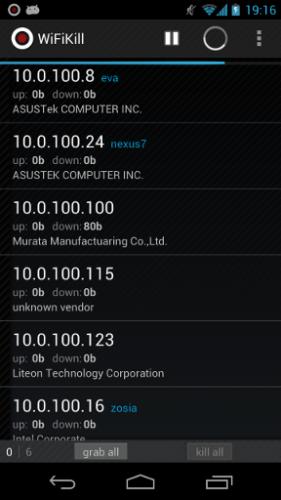Скриншот для WiFiKill - 1