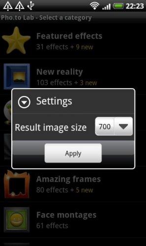 Скриншот для Photo Lab - 1