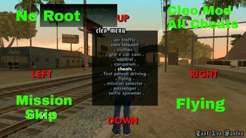 Скриншот для CLEO SA - 2