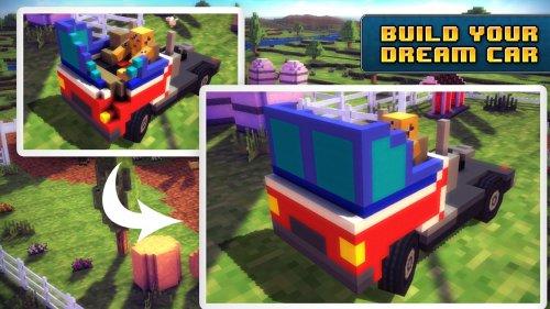 Скриншот для Blocky Roads - 2