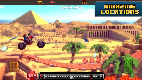 Скриншот для Blocky Roads - 1
