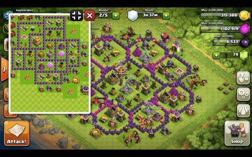Скриншот для Clash Of Clans Builder - 1