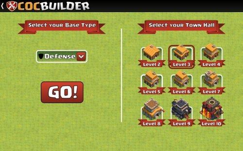 Скриншот для Clash Of Clans Builder - 2