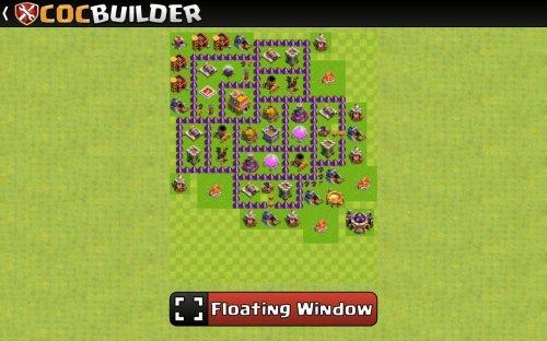 Скриншот для Clash Of Clans Builder - 3