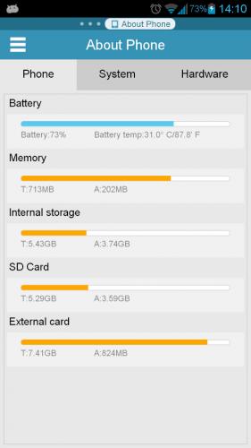 Скриншот для ES Диспетчер задач - 3