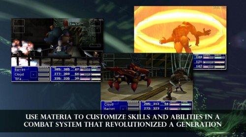 Скриншот для FINAL FANTASY VII - 3