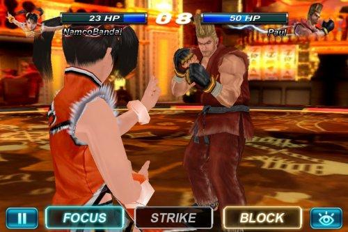 Скриншот для Tekken Card Tournament - 1