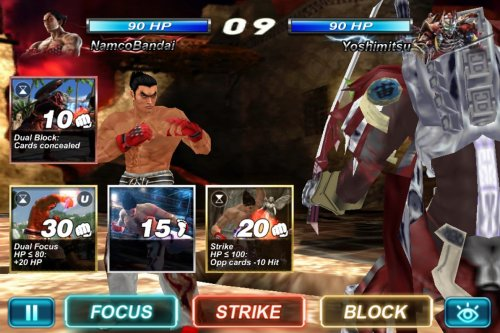 Скриншот для Tekken Card Tournament - 3