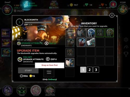 Скриншот для Dungeon Legends - 2