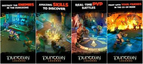 Скриншот для Dungeon Legends - 1