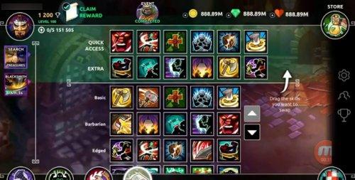 Скриншот для Dungeon Legends - 3
