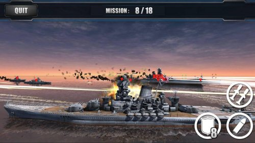 Скриншот для World Warships Combat - 1
