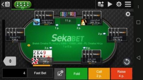Скриншот для Poker Mira Mobile - 3