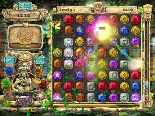 Скриншот для The Treasures Of Montezuma 4 - 3