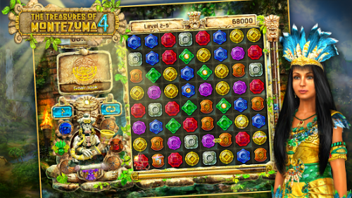 Скриншот для The Treasures Of Montezuma 4 - 2