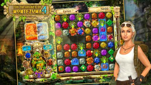 Скриншот для The Treasures Of Montezuma 4 - 1
