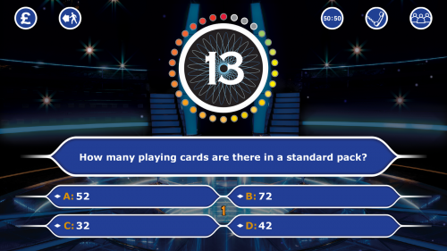 Скриншот для Who Wants To Be A Millionaire - 3