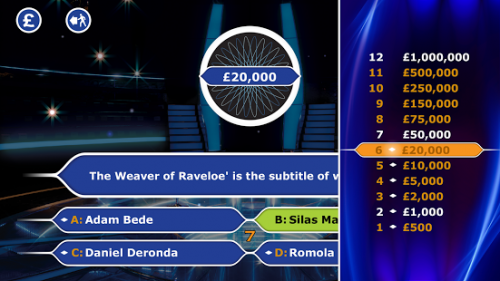 Скриншот для Who Wants To Be A Millionaire - 2