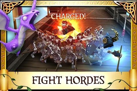 Скриншот для Arcane Legends - 2
