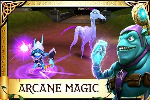 Скриншот для Arcane Legends - 3