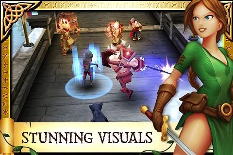 Скриншот для Arcane Legends - 1