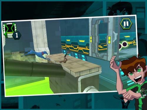 Скриншот для Undertown Chase - Ben 10 - 2