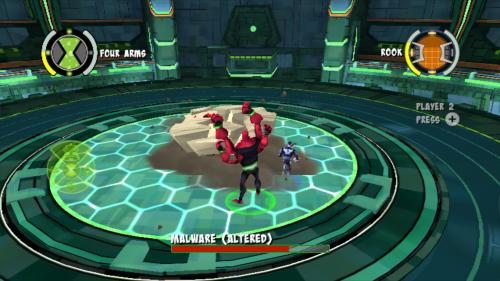 Скриншот для Undertown Chase - Ben 10 - 1