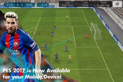 Скриншот для Pro Evolution Soccer 2017 - 2