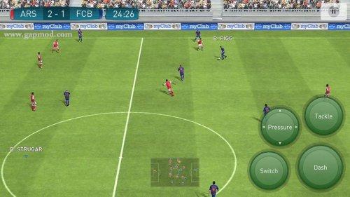 Скриншот для Pro Evolution Soccer 2017 - 3