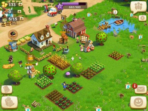 Скриншот для FarmVille 2 Cельское уединение - 1