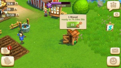 Скриншот для FarmVille 2 Cельское уединение - 2