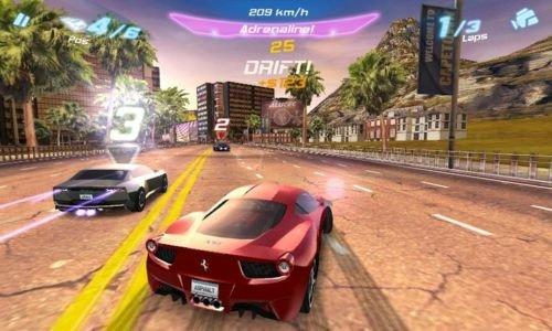 Скриншот для Asphalt 6 Adrenaline - 2