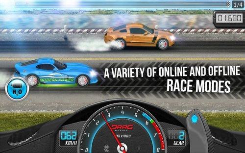 Скриншот для Drag Racing: Club Wars - 1