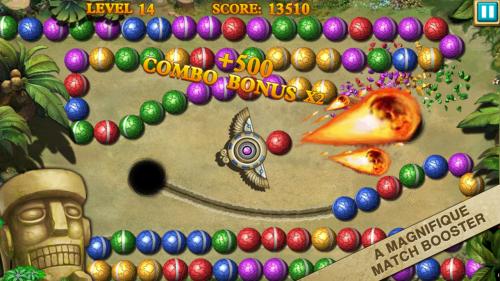 Скриншот для Marble Legend 2 - 2