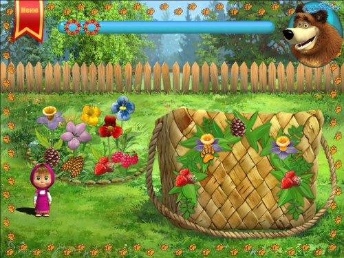 Скриншот для Маша и Медведь: Игра - 3