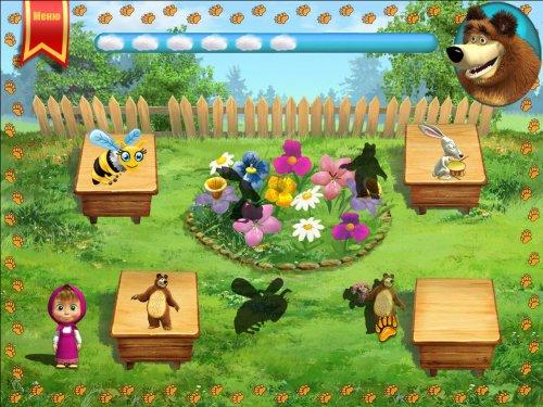 Скриншот для Маша и Медведь: Игра - 2