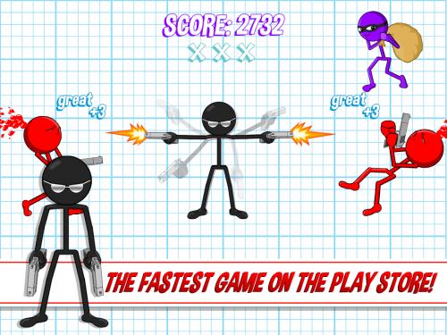 Скриншот для Gun Fu: Stickman 2 - 3
