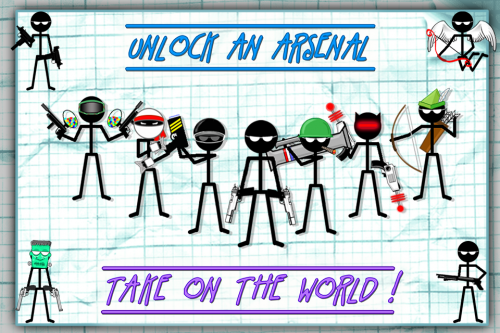 Скриншот для Gun Fu: Stickman 2 - 1
